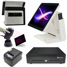 "15"" All In One Touch Screen POS System Liquor / Retail Point Of Sale"
