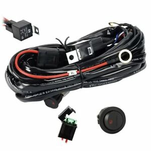 Details about Useful Wiring Harness Relay Kit for Connect Led Light on