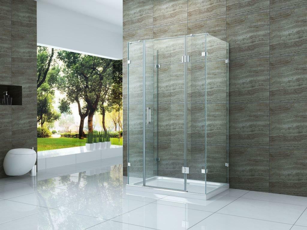 Der Umsatz Duschkabine PIEZO 21 x 21 cm mit Duschtasse U Form ...