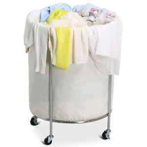 *New in open box* Household Essentials Commercial Round Clothes Laundry Hamper