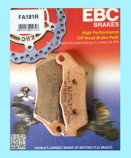 EBC FA181R Sinterizadas Pastillas Freno Delantero Husaberg Te TE125 TE250 &