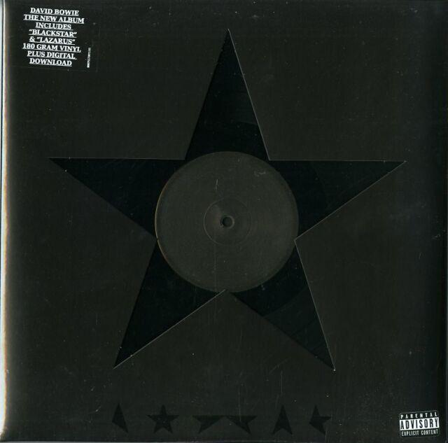 DAVID BOWIE - Blackstar (2018) LP