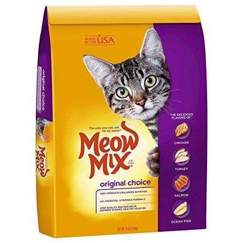 Meow Mix Original Choice Dry Cat Food, 16 lb New