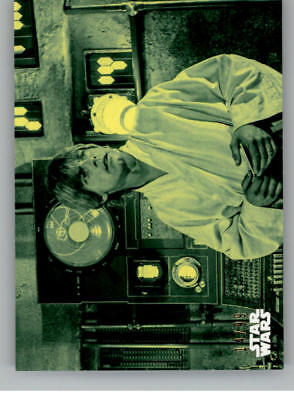 2018 Topps Star Wars Black /& White A New Hope #122 Fast Friends and Allies
