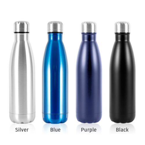 500ML Water Flask Stainless Steel Double Wall Vacuum Insulated  Bottle UK