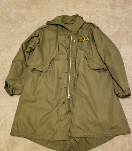 Vintage US Army M-1951Army Cold Weather Jacket Men