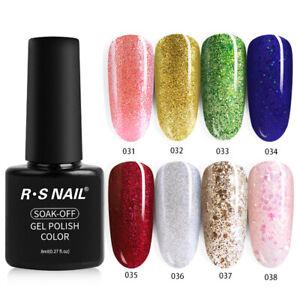 New-Arrival-RS-NAIL-Gel-Nail-Polish-UV-LED-Soak-off-Varnish-All-40-Colors-8g