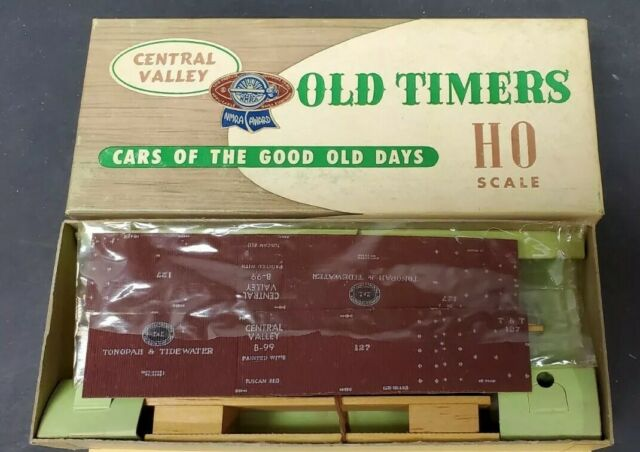 Central Valley HO Tonopah & Tidewater Box Car Kit  NOS