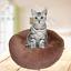 Lit-pour-Chien-chat-en-peluche-doux-Tapis-Panier-Corbeille-Couchage-Panier-XL-XS miniature 19