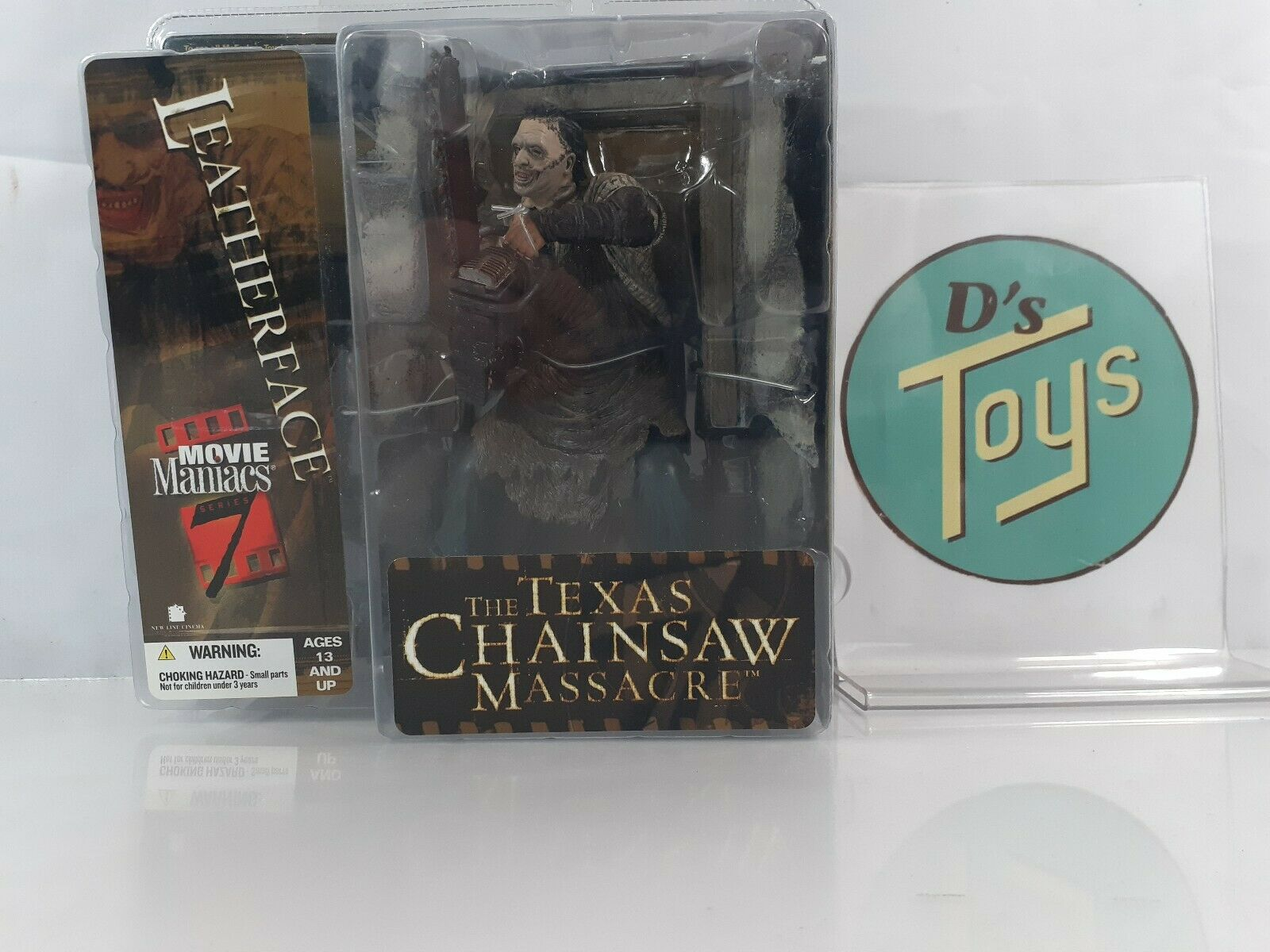 McFarlane Toys Movie Maniacs Series 7 Texas Chainsaw Massacre Remake LeatherFace