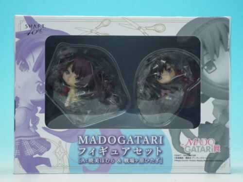 MADOGATARI Figure Set A Fig... FROM JAPAN Homura Akemi /& Hitagi Senjougahara