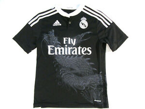 best website e7a1e b51c7 Details about Adidas x Y3 Yohji Yamamoto Gareth Bale Real Madrid Soccer  Jersey YOUTH L LARGE