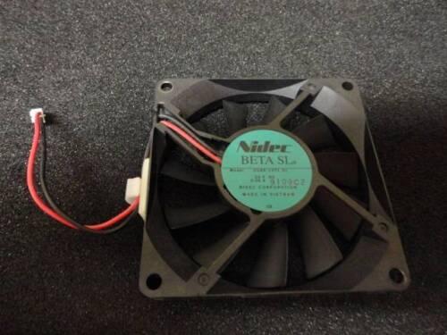 Nidec Beta SL Cooling Fan 24VDC 0.06A CX 2-Wire D08R-24TL-01 80x80x15mm N23
