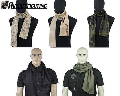 5Color Military Tactical Army Scrim Meshy Balaclava Scarf Face Veil Mask