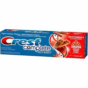 crest complete whitening expressions cinnamon rush flavor