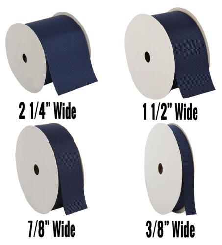 "Grosgrain Ribbon 3//8/"",7//8/"",1 1//2/"",2 1//4/"" widths 10 yd rolls 25 colors Free Ship"