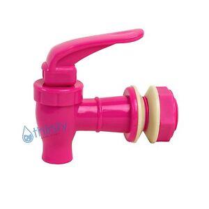 Replacement-Water-Faucet-Spigot-Dispenser-3-4-034-Valve-Bottle-Jug-Crock-PINK-New