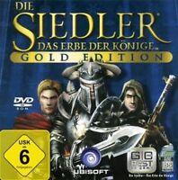 DIE SIEDLER 5 GOLD + 2 AddOns Nebelreich + Legenden TopZustand