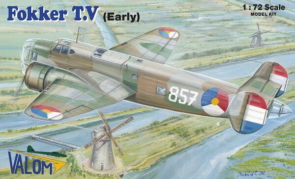 Valom 1 72 Model Kit 72103 Fokker T.5 Early version