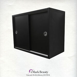 Upper Towel Storage Cabinet For Beauty Salon Shampoo Bowl and Spa ...