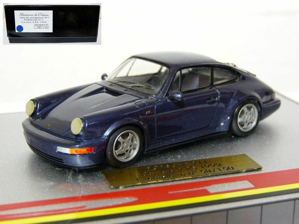 Heco Miniatures Du Chateau 1 43 Porsche 911 Carrera RS Handmade Resin Model Car