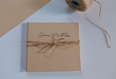 Personalised Handmade Wedding Cratf Photo CD, DVD case, cover - Wedding Day