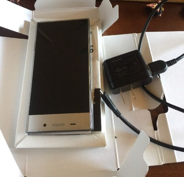 Silver Sharp Aquos Crystal 306SH Phone Preowned
