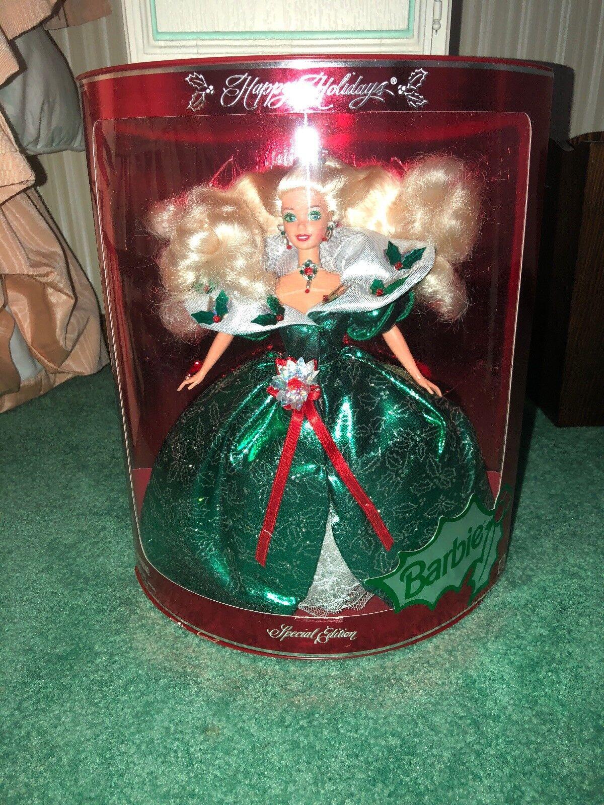 Muñeca Barbie Felices Fiestas 1995