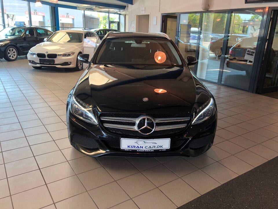 Mercedes C200 d 1,6 Exclusive stc. Diesel modelår 2016 km