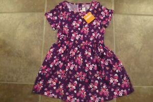 NEW-Gymboree-Girls-Purple-Floral-Spring-Summer-Dress-Size-4-5-6-NWT-One-Piiece