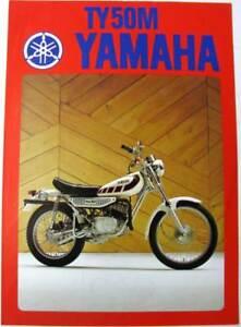 YAMAHA-TY-50M-Trials-Bike-1977-LIT-3MC-0107001-Original-Motorcycle-Sales-Sheet