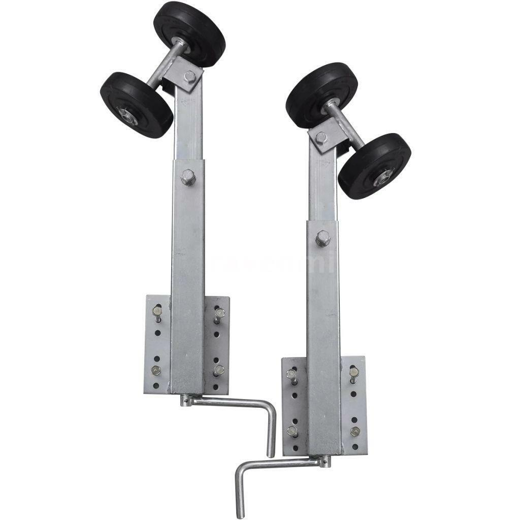 2 Stk.Sliprollen cm Pendel Stiefeltrailer Paar Sliphilfe Stiefelanhänger 59-84 cm Stk.Sliprollen N7B0 bdc025