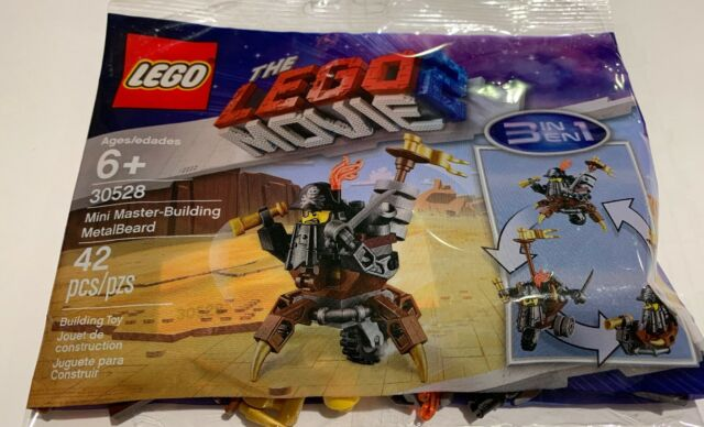 Brand Mini Building Polybag Metalbeard New Movie 30528 2 Master Lego The rCthxQds