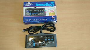 Pad-NEC-PC-Engine-Avenue-3-import-jap-en-boite-rare