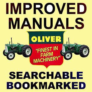 Oliver-Fleetline-Super-55-66-77-88-550-660-770-880-Tractors-SERVICE-MANUAL-DVD
