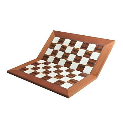 """Coral Ash Root /& Bird/'s Eye Maple Standard Traditional Chess Board 2.5/"""""""