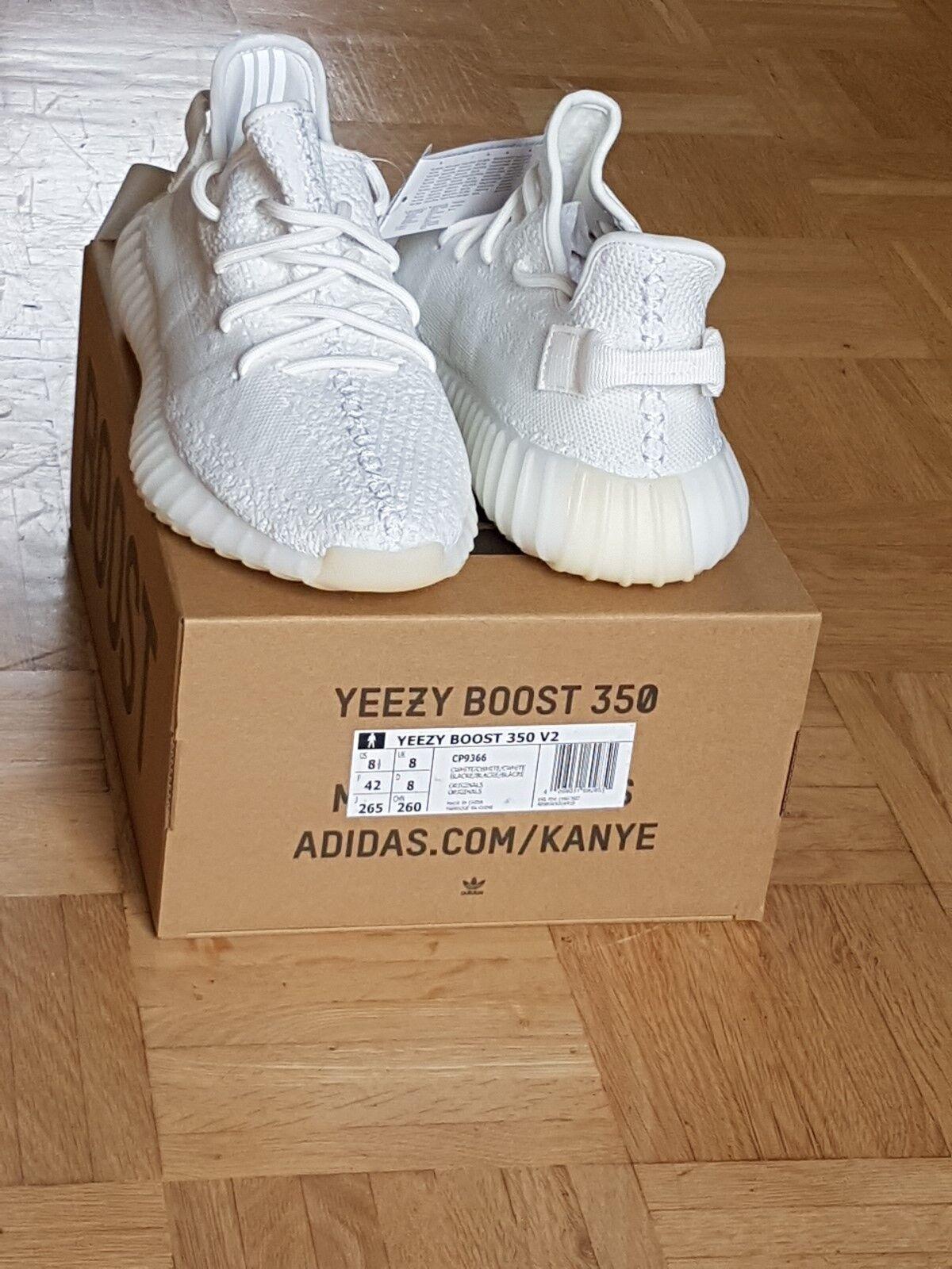 Adidas Yeezy Boost 350 V2 Cream White,100% Original, Limited Edition Größe: 42