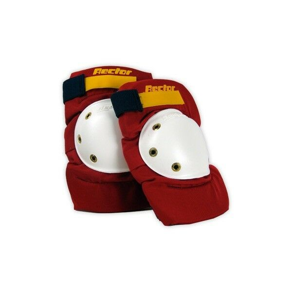 RECTOR NOS Old School S board Predector Knee Pads Red  Small Medium Large  in stock