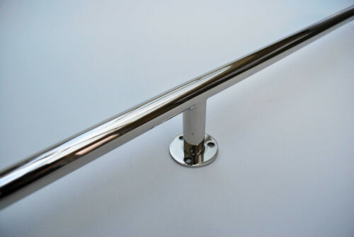 Highly Polished Single 316 Stainless Steel 1500mm Boat Grab Rail//Handle