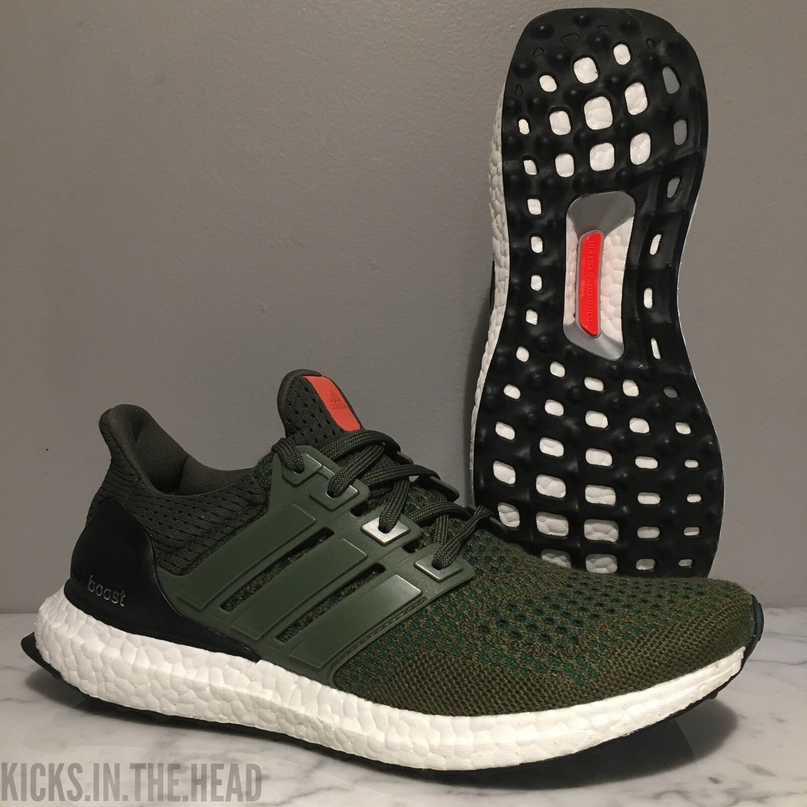 adidas ULTRA BOOST LTD 1.0 'OLIVE' - SIZE 6.5 - AF5837 BASE GREEN