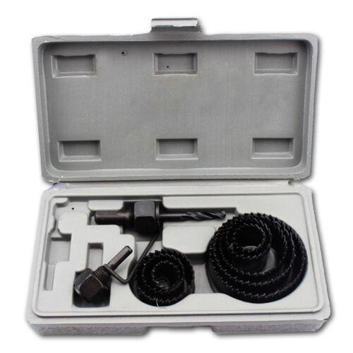 11 SAW KIT SET 19-64mm Hole Saw Cutter Set Metal Alloy Plastic wood downlight