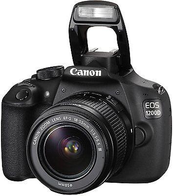 Neue Canon EOS 1200D mit 18-55mm Spiegelreflexkamera + Zubehörpaket 8
