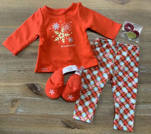 Holiday Dreams PJS Slippers MIB American Girl Holiday Fashion