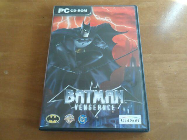 Batman Vengeance for PC CD ROM UK PAL