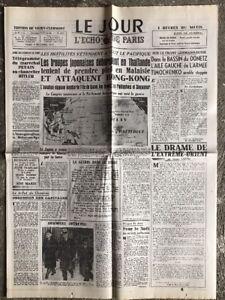 N17-La-Une-Du-Journal-Le-Jour-9-Decembre-1941