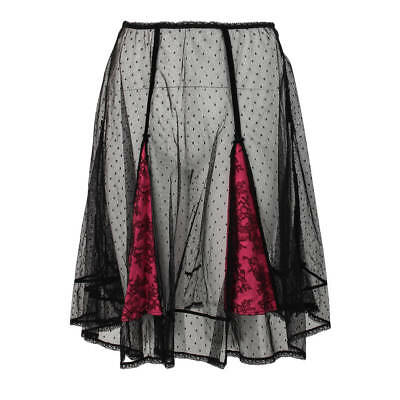 Dita Von Teese Ladies Glorified Girl Black Slip Size 14C 36C D32387 New