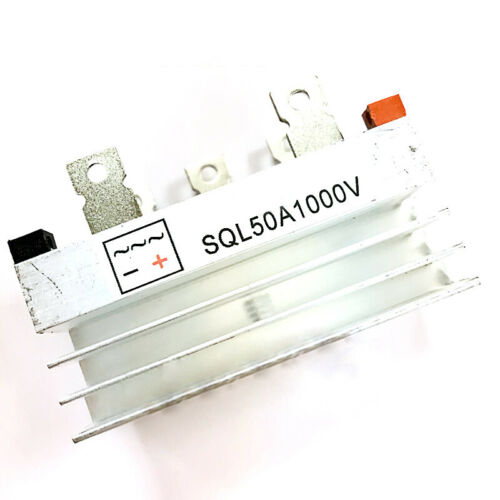 Bridge Diode Rectifier For Three Phase New SQL 50A 1000V Generator With Heatsink