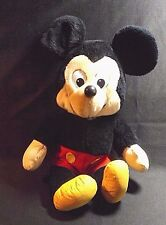 PLUSH  MICKEY MOUSE 15  IN  WALT DISNEY MATERIAL FEET AND HANDS