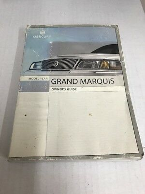 mercury grand marquis owners manual ebay