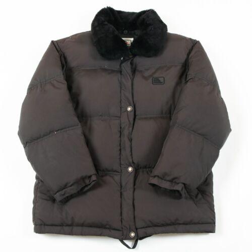 Fur fill Down Jacket Vintage trim Puffer Elho qRFn8wz